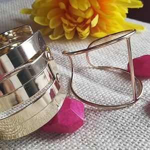 Jewelry - Gold Tone Bracelet Bundle